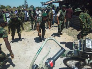 PHOTO: STF boss boost troops moral in the fight against insurgents