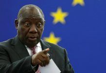 South Africa president bans annual salary increase for cabinet