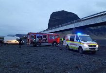 Iceland crash: 'Wives of British brothers' die as 4x4 plunges off bridge
