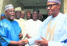 Nigeria polls: Atiku snubs election peace deal, Buhari signs