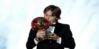Croatia, Real Madrid's Luka Modric wins 2018 Ballon d'Or