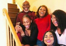See Photos of Nigeria's RMD and Family Celebrating Christmas