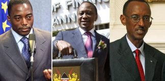 #10YearChallenge: African presidents way back and now