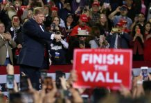 Trump pushes US-Mexico wall plan, Congress nears deal