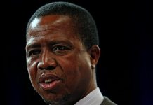 Zambia opposition to report president Lungu at ICC