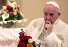 Migration can not be solved by physical barriers -Pope Francis