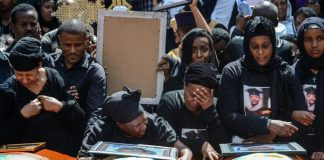 Funerals for Ethiopia crash victims but little to bury