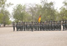 Nigerian Military holds competition tasks personnel to be battle ready
