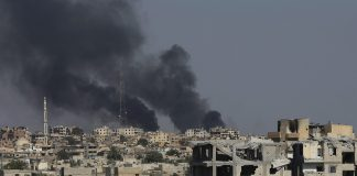 Syrian air defenses targets projectiles fired from Israel