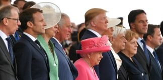 Trump, Queen lead emotional tributes to D-Day heroes