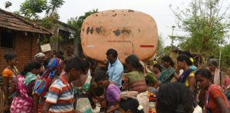 Water tankers prove a lifeline for India's parched villages