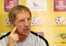 South Africa coach Baxter keeps Nigeria guessing