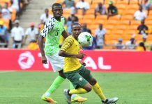 Nigeria can't match Bafana Bafana's pace and skill