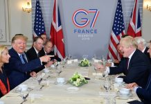 Iran foreign minister makes surprise visit to G7 summit