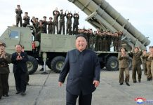 Trump 'not happy' after N. Korea's Kim oversees latest rocket test