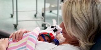 ''Cuddle therapy'' helping premature babies