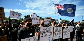 Sydney and Taiwan kick off global protests for Hong Kong