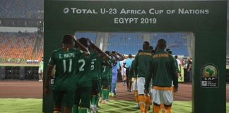 With two groups of four teams each, the Egyptian capital Cairo hosted the entire tournament with the Cairo and Al Salam stadiums being the venues. GROUP A finished with Egypt topping with 9 points. Ghana edged out Cameroon with superior goal difference after both teams finished with four points apiece. Mali came last with zero points. In GROUP B, Ivory Coast topped with six points whiles South Africa bagged five points. Defending champions Nigeria managed four points whiles Zambia finished bottom with a point. In the knockout stage, extra time and penalty shoot-out are used to decide the winner if necessary. An exception is with the third place match where extra-time will be skipped for shootouts to decide.