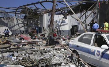 skynewsafrica Airstrike hits military academy in Libya capital Tripoli 30 killed