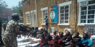 sky news africa Nigeria's Military taskforce nab fleeing Boko Haram member