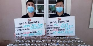 skynewsafrica Nigeria arrests Chinese over $250K cash bribe for corruption cover-up