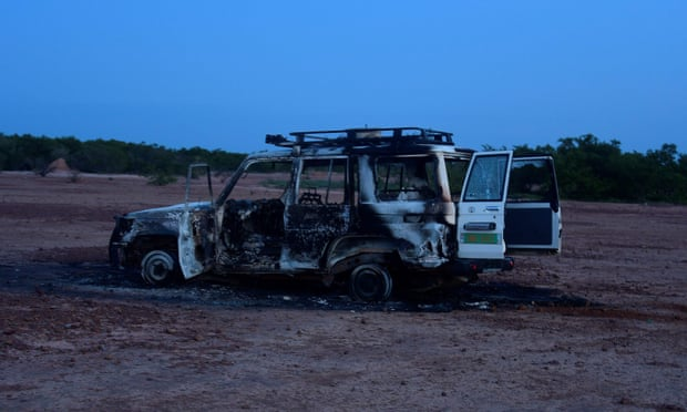 skynewsafrica Islamic State claims Niger killings of French aid workers