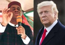 sky news africa Nigeria's ex minister thumbs up for Trump win or lose