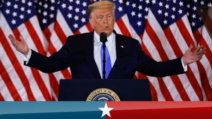 sky news africa US election 2020: Result on a knife edge