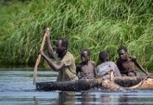 sky news africa 'Our children die in our hands': Floods ravage South Sudan