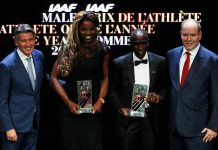 Kenya's Eliud Kipchoge wins IAAF male athlete of 2018