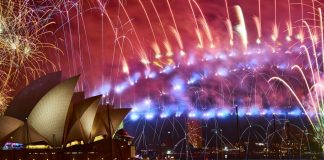 In pictures: Dazzling fireworks as the world welcomes in 2019