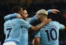 Aguero hat-trick fires Man City to 3-1 win over Arsenal