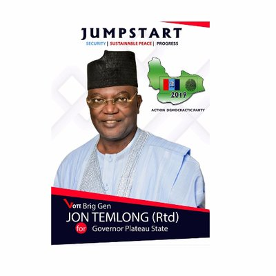 Saturday's election is between ideas and clueless - Nigeria's Gov. Candidate, Temlong