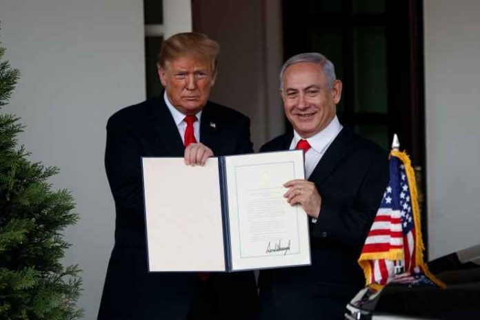 NETANYAHU: I WILL NAME A GOLAN TOWN AFTER TRUMP