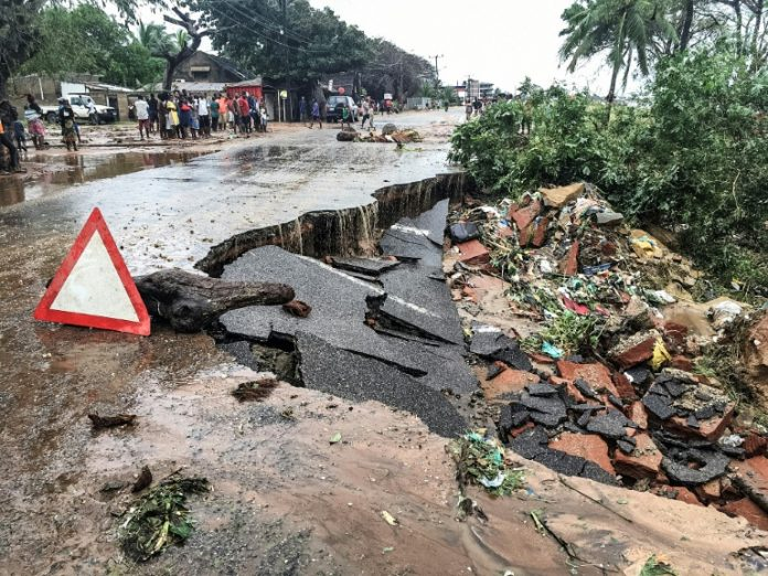 38 killed as floods worsen in Mozambique after second cyclone