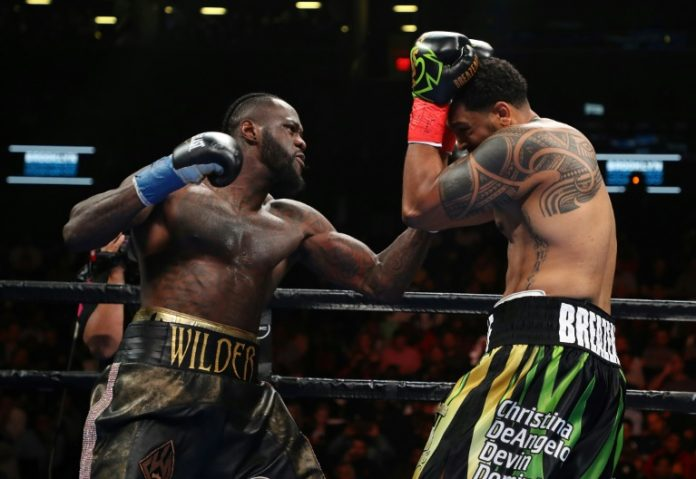 Wilder retains WBC heavyweight title with brutal first round KO