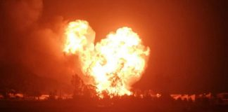South Africa gas tanker explosion injures six