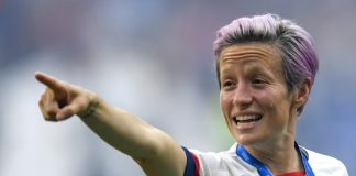 US football star calls for action as equal pay chants greet US World Cup triumph