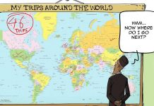 Nigeria president's frequent foreign trips elicits social media reactions