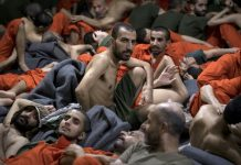 inside an IS prison in Syria