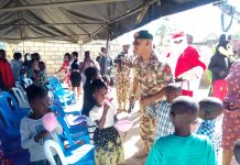 Skynewsafrica Nigeria's Military taskforce throws party for Orphans, IDPs at Christmas