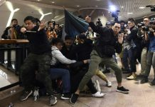 skynewsafrica Third day of Christmas clashes in Hong Kong