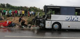 sky news africa 34 killed in accident on Ghana highway