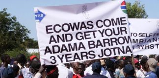 Sky News Africa Gambia govt bans protests, silences critical media