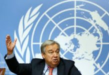 sky news africa U.N. chief urges Libyan factions to firm up ceasefire deal