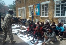 sky news africa Nigeria's Military taskforce nab fleeing Boko Haram member
