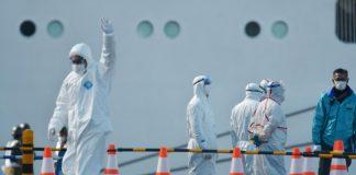 Sky News Africa 2 passengers of coronavirus-infected ship die in Japan