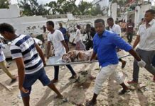 sky news africa At least 8 soldiers dead in blast outside Somali army base