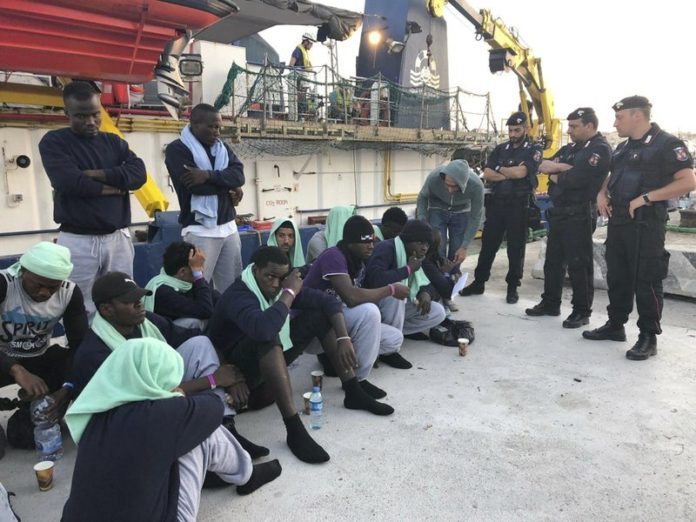 """sky news africa In the year up through July 2015, some 175,000 migrants were plucked to safety in the Mediterranean from smugglers' boats and brought to Italy. From August 2016 through July 2017, the number was even higher — about 183,000. In the last few years, Italian authorities have made it difficult for humanitarian rescue ships operating in the central Mediterranean Sea. Some of the charity boats have ended up impounded in Italian ports for technical reasons. And when anti-migrant leader Matteo Salvini was Italy's interior minister in the previous government, humanitarian rescue boats were sometimes kept at sea for days or weeks at a time with migrants aboard while waiting permission to disembark. Commenting on the latest figures, Interior Minister Luciana Lamorgese said many of those setting out from Tunisia in small boats and reaching Italy are Tunisians determined to escape economic hardship in their homeland, not refugees fleeing conflict. She and Italy's foreign minister will visit Tunisia on Monday, along with two European Union commissioners, to try to boost solidarity with Tunisia and its """"young democracy,"""" Lamorgese said. While thousands of migrants, many from sub-Saharan Africa, still set out for Europe from lawless Libya, where human traffickers have been based for years, according to Italy's latest figures more migrants reached Italy by sea from Tunisia than from Libya. Italy has a repatriation agreement with Tunisia that allows Italian authorities to relatively quickly send back to Tunisia those found ineligible for asylum."""
