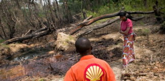 sky news africa Shell will pay for destroying our land, Nigerian group insist